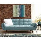 Skylar Transitional Blue Sofa Bed Product Image