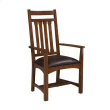 Oak Park Narrow Slat Arm Chair