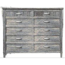 Willow Dressing Chest - Pewter