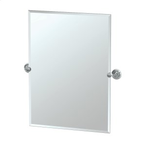 Designer II Rectangle Mirror in Brushed Brass Product Image