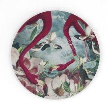 Flamingo Flowers I, Alexandra Gallagher