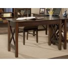 Lexi Work Table in Walnut Product Image
