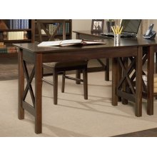 Lexi Work Table in Walnut