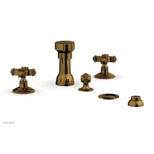 MARVELLE Four Hole Bidet Set 162-60 - French Brass