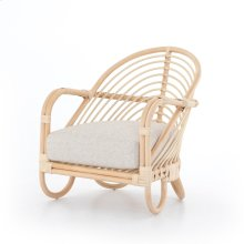 Lago Dune Cover Marina Chair, Natural Rattan