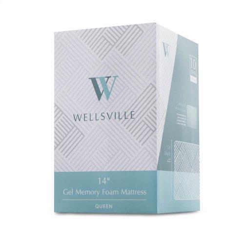 Wellsville 14 Inch Gel Foam Mattress Full