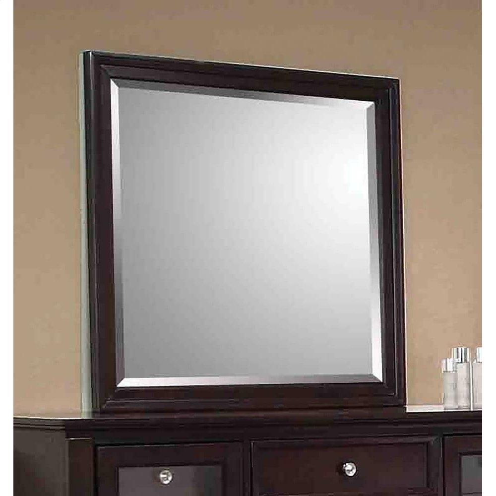 Sandy Beach Cappuccino Dresser Mirror
