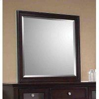Sandy Beach Cappuccino Dresser Mirror Product Image