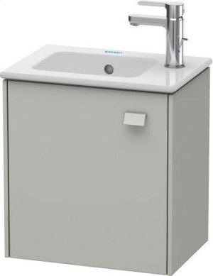 Vanity Unit Wall-mounted, Concrete Gray Matte (decor) Product Image