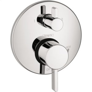 Chrome Pressure Balance Trim S with Diverter Product Image