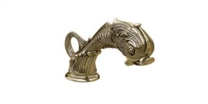 DOLPHIN Deck Tub Spout K5103 - Polished Brass Product Image