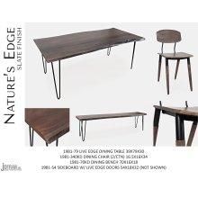 "Nature's Edge 48"" Bench-brushed Grey"