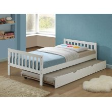 CUTIE WHITE FINISH TRUNDLE