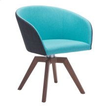 Wander Dining Chair Blue & Gray