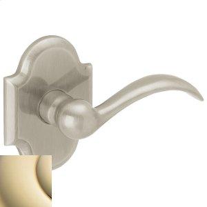 Lifetime Polished Brass 5452V Beavertail Lever Product Image
