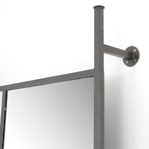 Enloe Entryway Mirror-coated Gunmetal
