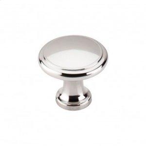 Ringed Knob 1 1/8 Inch - Polished Nickel Product Image