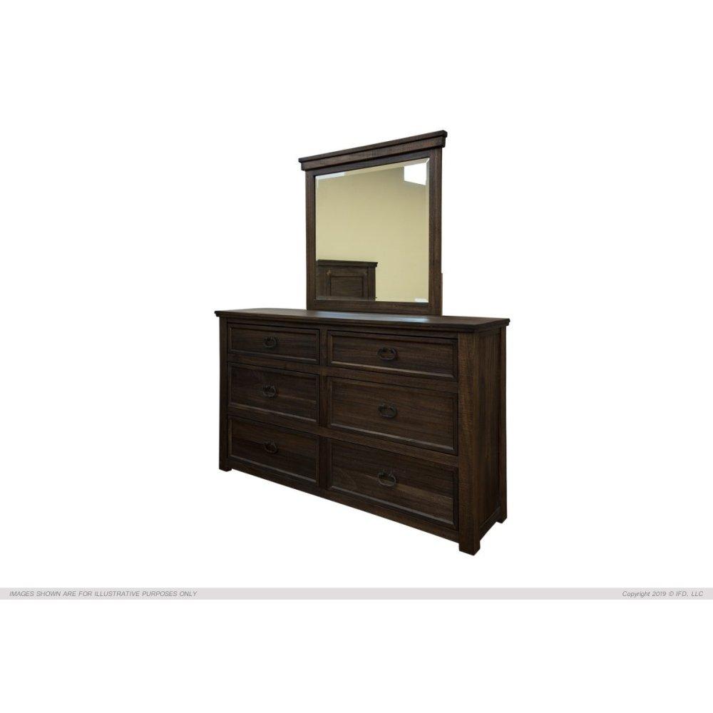 Mirror, Parota Wood