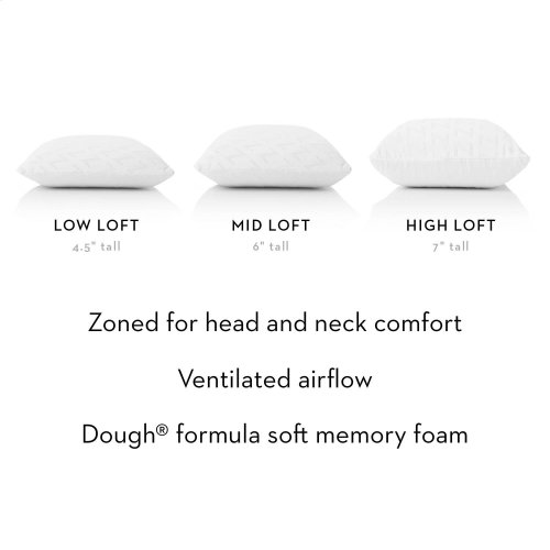 Zoned Dough® Queenlow Loft Plush