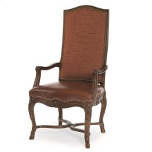 Hooved French Arm Chair