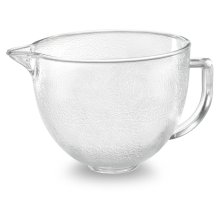 5-Qt. Tilt-Head Hammered Glass Bowl with Lid Other