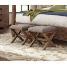 Accent Ottoman With Nailhead Trim Product Image