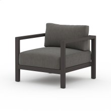 Charcoal Cover Sonoma Outdoor Chair, Bronze