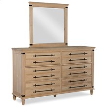 BD-9006 6-Drawer Dresser