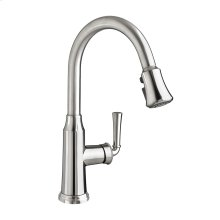 Portsmouth 1-Handle Pull Down High-Arc Kitchen Faucet  American Standard - Stainless Steel