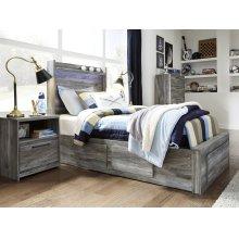 Baystorm - Gray 5 Piece Bed Set (Twin)