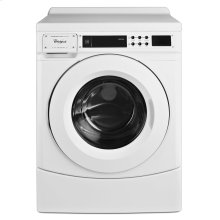 "27"" Commercial High-Efficiency Energy Star-Qualified Front-Load Washer, Non-Vend White"