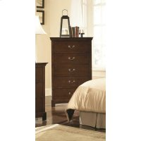 Tatiana Transitional Five-drawer Chest Product Image