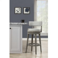 Lawton Swivel Counter Height Stool - Ant. Gray