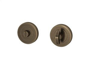 Half Moon Turn & Release Sets In Fine Antique Brass Product Image