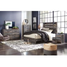Drystan - Queen Bedroom - Queen Storage Bed, Dresser, Mirror