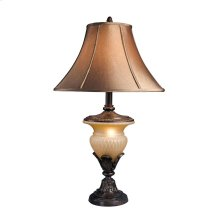 Danielle - Bronze Finish Poly Table Lamp