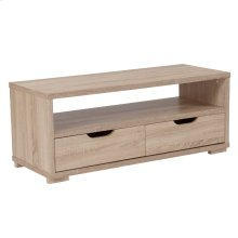 TV Stand with Storage Drawers in Sonoma Oak Wood Grain Finish