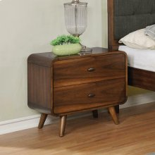 Robyn Dark Walnut Nightstand