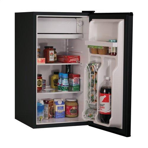 3.2 Cu. Ft. Energy Star Refrigerator with Freezer, Black