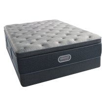 BeautyRest - Silver - Charcoal Coast - Summit Pillow Top - Luxury Firm - Queen
