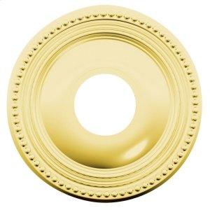 Lifetime Polished Brass R008 Estate Rose Product Image