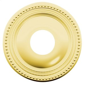 Lifetime Polished Brass R008 Estate Rose Product Image