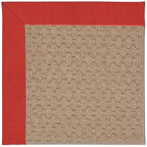 Creative Concepts-Grassy Mtn. Dupione Crimson Machine Tufted Rugs