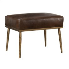 Christopher Ottoman Antique Brown
