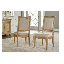 Ashby Woods Upholstered Back Side Chair