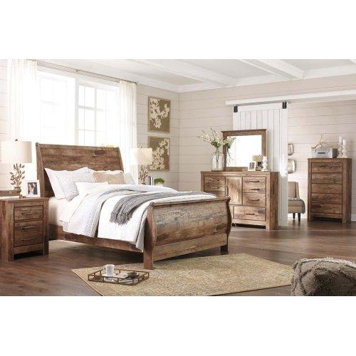Blaneville - Brown 2 Piece Bedroom Set