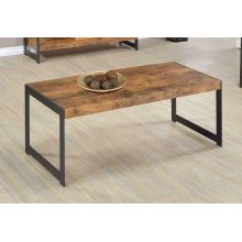 Rustic Antique Nutmeg Coffee Table
