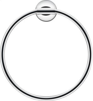 Towel Ring, Chrome Product Image