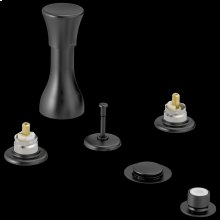 Matte Black Bidet Faucet - Less Handles