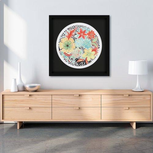 Floral Matisse Circle II
